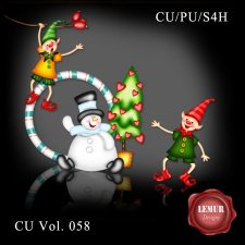 CU Vol 058 Christmas by Lemur Designs