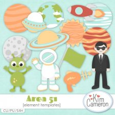 Area 51 Templates by Kim Cameron