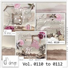 Vol. 0110 to 0112 - Winter Mix by Doudou's Design