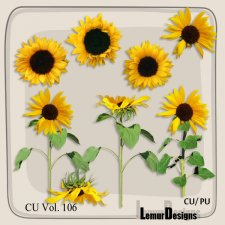 CU Vol 106 Sunflowers by Lemur Designs