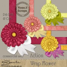 Action - Wrap Flower by Rose.li