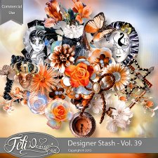 Designer Stash Vol 39 - CU by Feli Designs