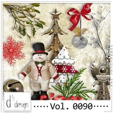 Vol. 0088 to 0090 - Christmas Mix by Doudou's Design