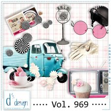 Vol. 969 Fifties Mix by Doudou Design