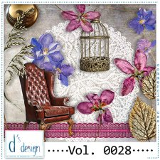 Vol. 0028 Vintage Mix by Doudou Design