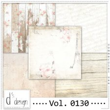 Vol. 0130 Vintage papers by Doudou's Design