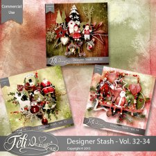 Designer Stash Vol. 32-34 - CU by Feli Designs