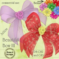 Action - Beautiful Bow III by Rose.li