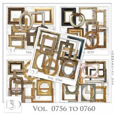 Vol. 0755 to 0760 Frames Mix by D's Design