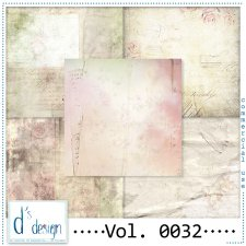 Vol. 0032 - Vintage papers - by Doudou's Design