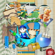 CU Vol. 173 Boy Kids Stuff by Lemur Designs