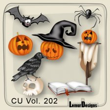 CU Vol 202 Halloween Pack 1 by Lemur Designs