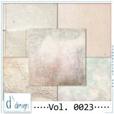 Vol. 0023 - Vintage papers - by Doudou's Design