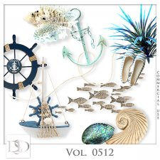 Vol. 0512 Summer Sea Mix by D's Design
