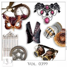 Vol. 0399 Steampunk Mix by D's Design