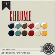 Let Freedom Ring Chrome PS Styles by Just So Scrappy