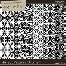 Perfect Patterns Vol 1 - EXCLUSIVE Designs