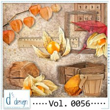 Vol. 0056 Autumn Mix by Doudou Design
