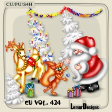 CU Vol 424 Christmas by Lemur Designs