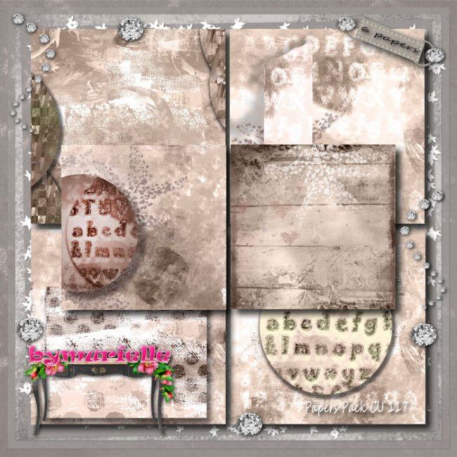 Papers Pack Vol 117 EXCLUSIVE bymurielle