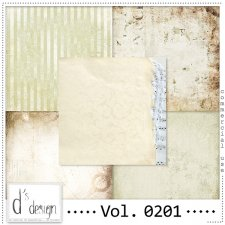 Vol. 0201 Vintage Papers by Doudou's Design