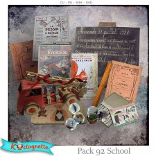 Pack 92 School by Kastagnette