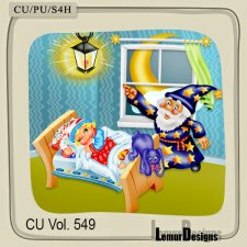 CU Vol 549 Sweet Dreams by Lemur Designs