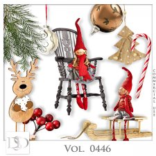 Vol. 0446 Winter Christmas Mix by D's Design