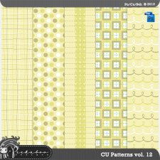 Pattern Template Paper vol 12 by Peek a Boo Designs
