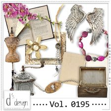 Vol. 0195 - Vintage Mix by Doudou's Design