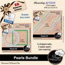 Pearls BUNDLE ACTION by Boop Designs