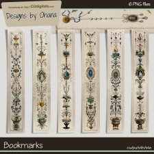 Bookmarks - EXCLUSIVE Designs by Ohana