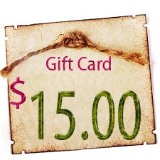 Gift Certificate - $15.00 in Digitals