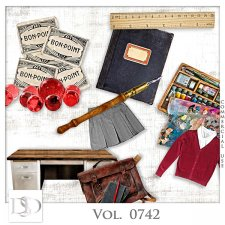 Vol. 0742 School Mix by D's Design