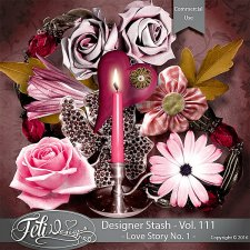 Designer Stash Vol 111 Love Story No 1 - by Feli Designs