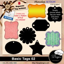 Basic Tags 02 by Boop Designs