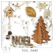 Vol. 0440 Winter Christmas Mix by D's Design