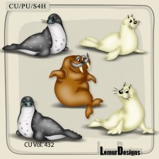 CU Vol 432 Animals by Lemur Designs