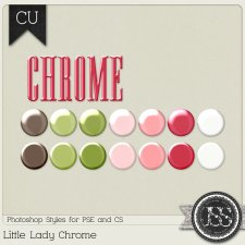 Little Lady Chrome PS Styles by Just So Scrappy
