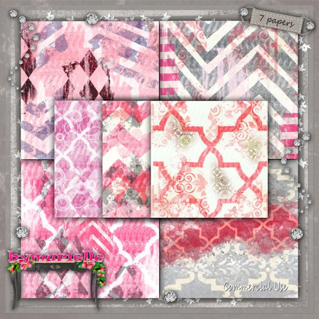 PAPERS Vol 109 Geometric 2 EXCLUSIVE byMurielle
