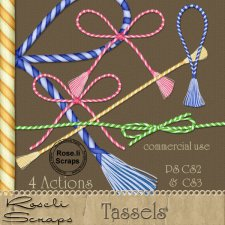 Action - Tassels by Rose.li