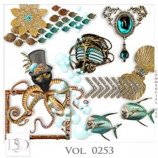 Vol. 0253 Steampunk Sea Mix by D's Design