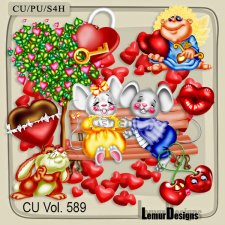 CU Vol 589 Valentine Day Love