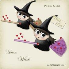 Action - Witch by Rose.li