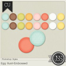 Egg Hunt Embossed PS Styles by Just So Scrappy