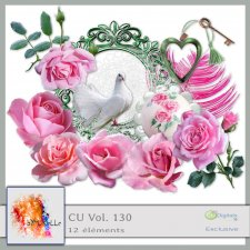Vol. 130 Pink Roses EXCLUSIVE bymurielle