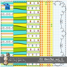 Overlay Pattern Templates vol 5 by Peek a Boo Designs