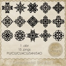 Ornamental Brushes 1 by Josy
