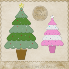 Christmas Tree Photoshop Action 3 by Josy