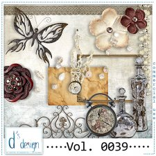 Vol. 0039 Vintage Mix by Doudou Design